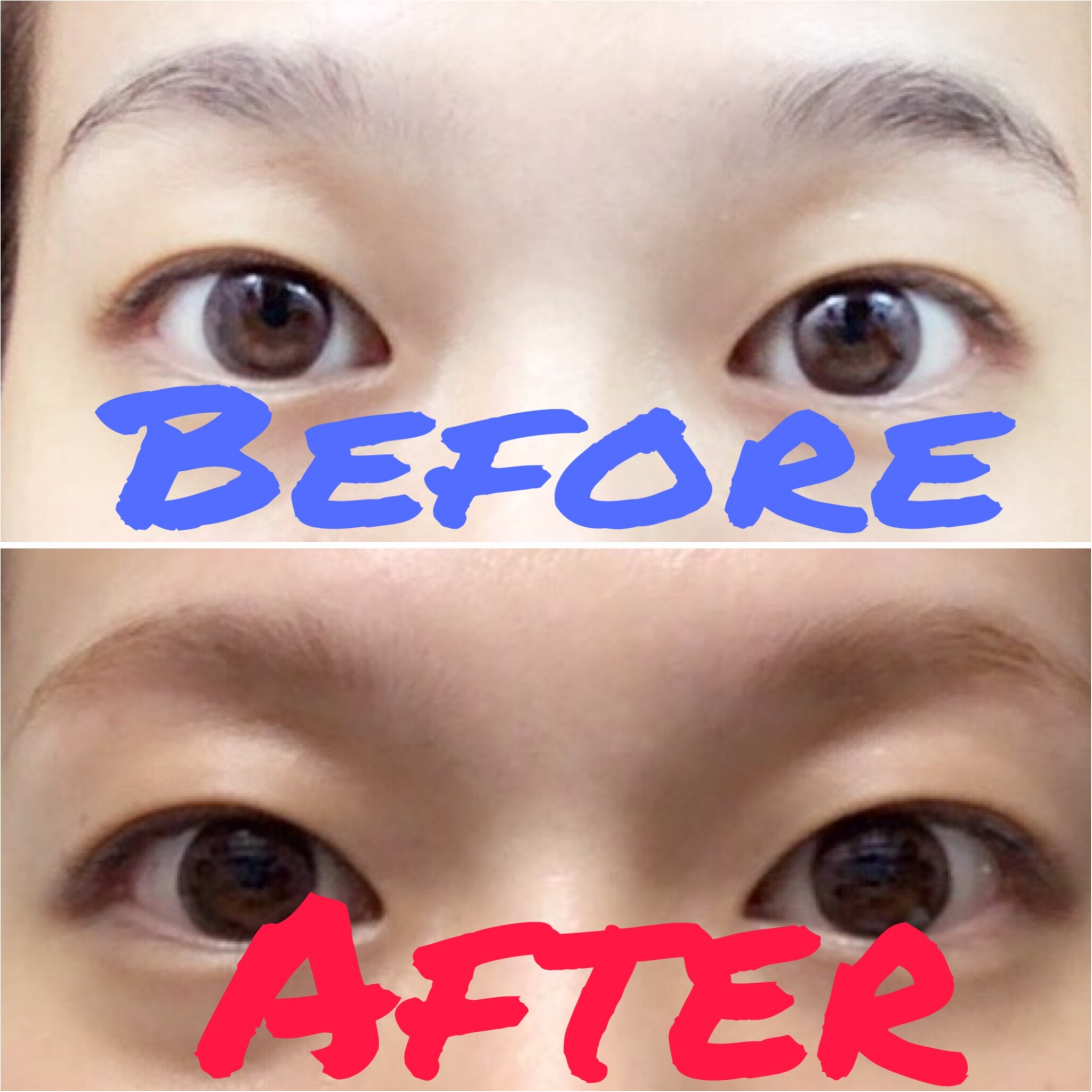 【eyebrows】自宅で簡単に出来ちゃう眉毛カラー!明るい夏のヘアカラーにもピッタリ♡_5