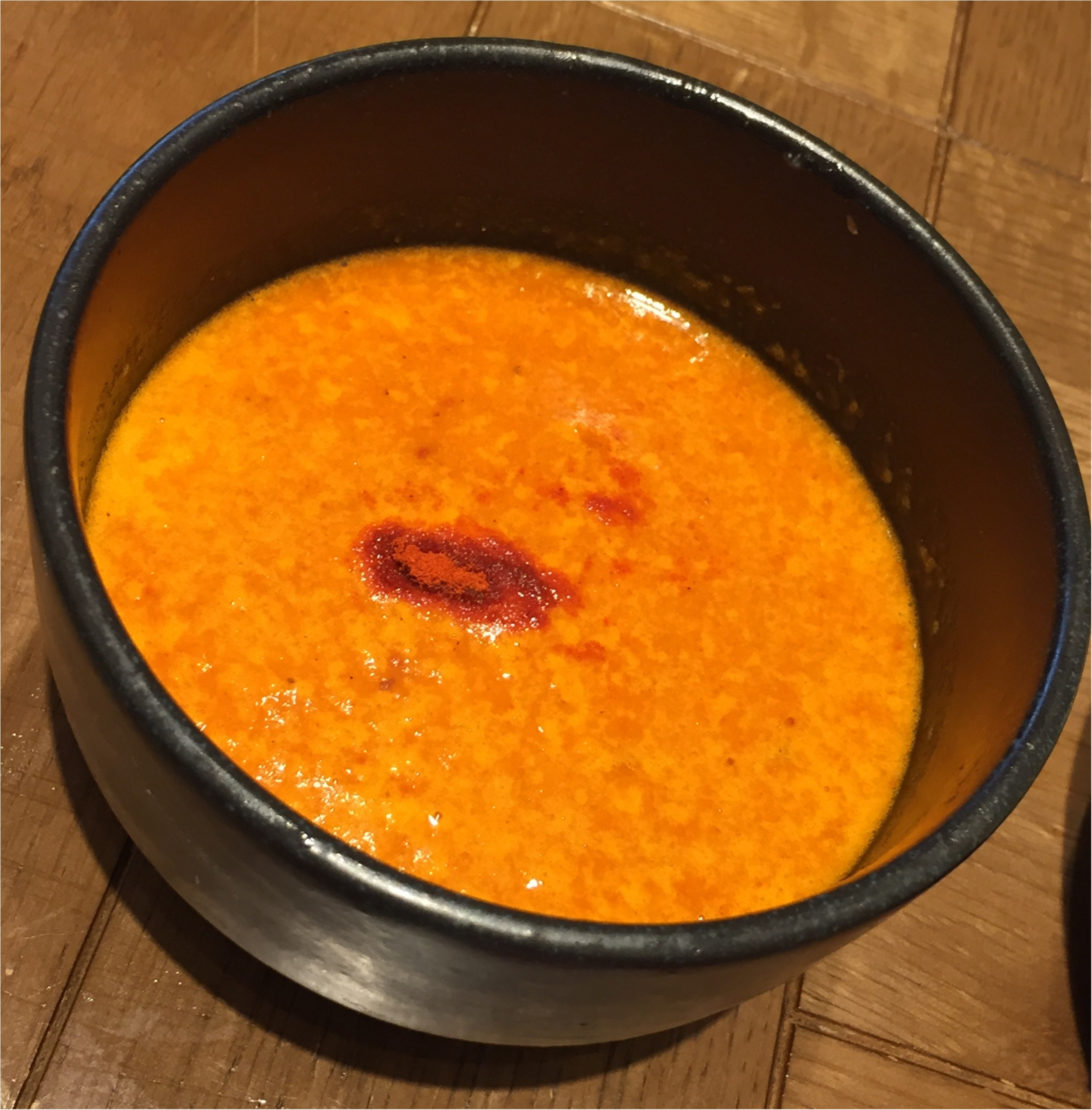 まるでビスクなヘルシー海老つけ麺✨海老鶏麺蔵が堺筋本町にOpen✨_5