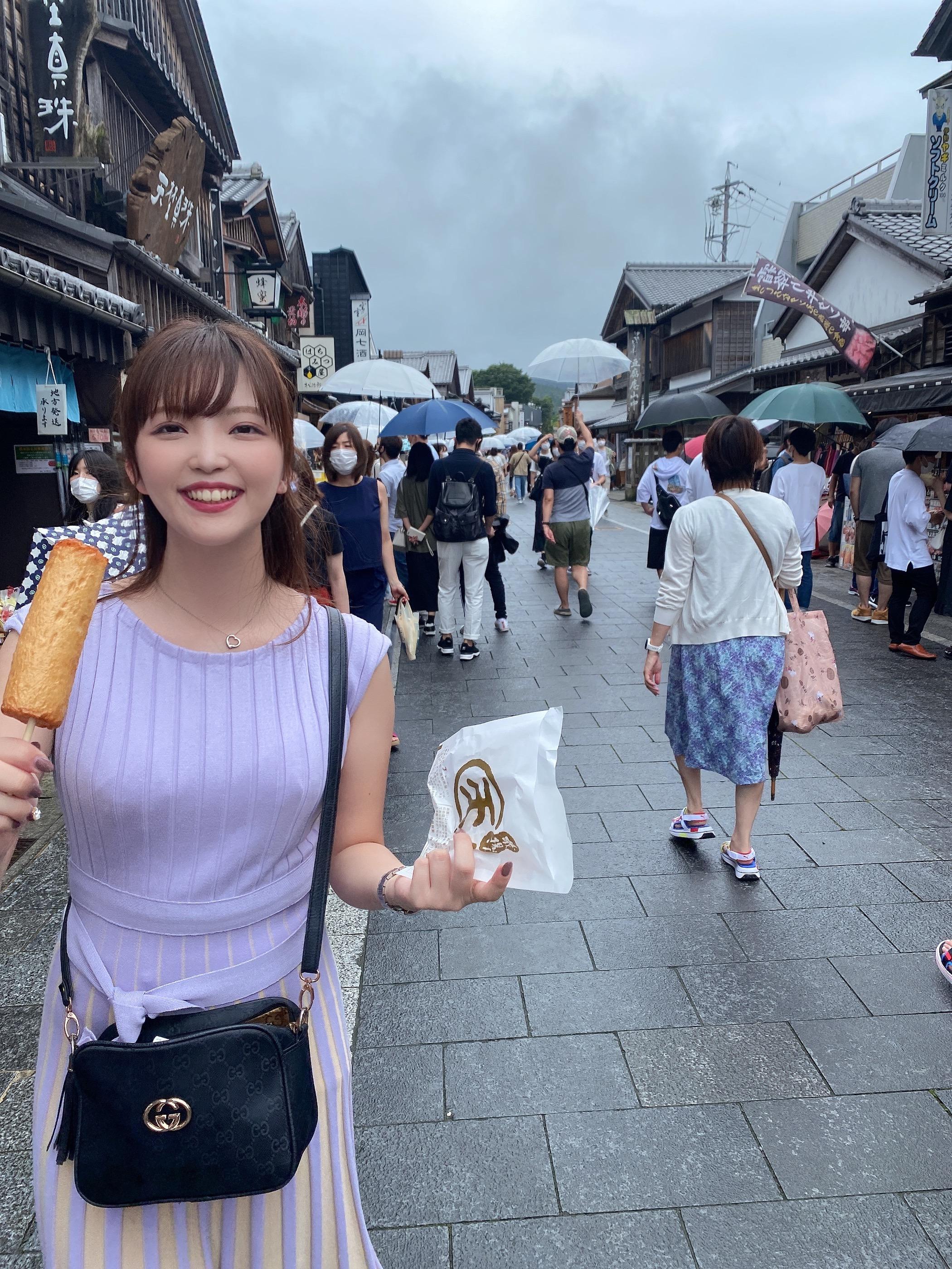 【女子旅におすすめ】三重のおかげ横丁の可愛い街並みで食べ歩き♡_4
