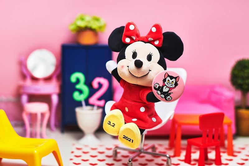 ぬいもーずのミニーマウスの写真