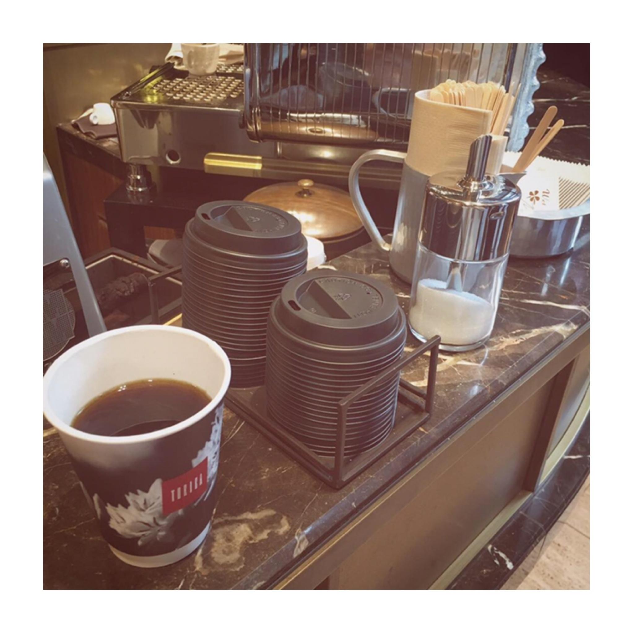 #16【#cafestagram】❤️:《銀座》でまさかの100円で本格コーヒーが飲める!『TORIBA COFFEE』☻_4
