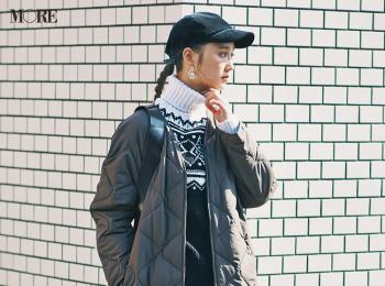 【今日のコーデ】<鈴木友菜>デニムがはきたい日曜日は+キルティングコートで素敵に