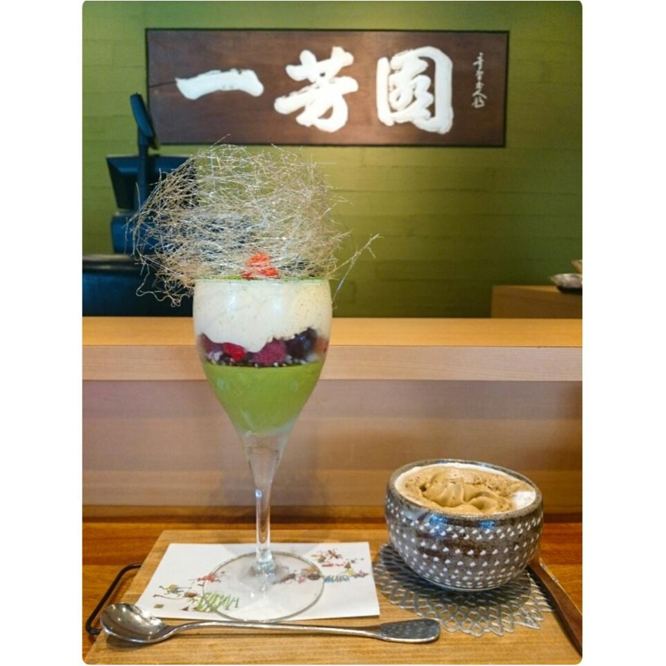 《京都にきたなら必ず行くべき!!》うっとりする程美しい♡「茶味匠 清水一芳園」の1日10食限定抹茶パフェが絶品すぎる♡_11