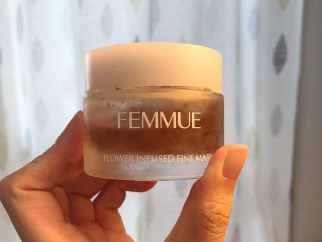 おうち時間を楽しもう♡ FEMMUEのフラワーインフューズ ド ファインマスクをゲットしてみた!_1
