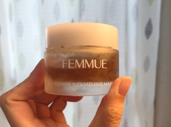 おうち時間を楽しもう♡ FEMMUEのフラワーインフューズ ド ファインマスクをゲットしてみた!