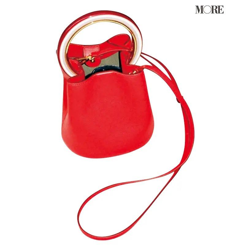松本愛が愛用するマルニのバッグ