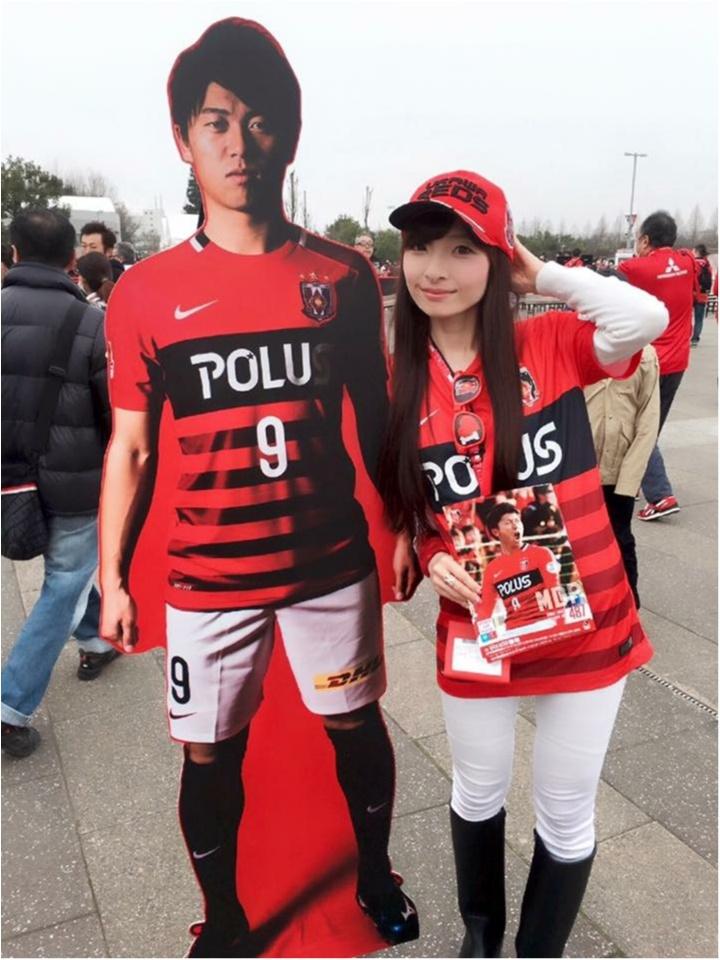♡【浦和レッズサポ女】サッカー観戦コーデ♡モアハピ◡̈のぞみ♡_11