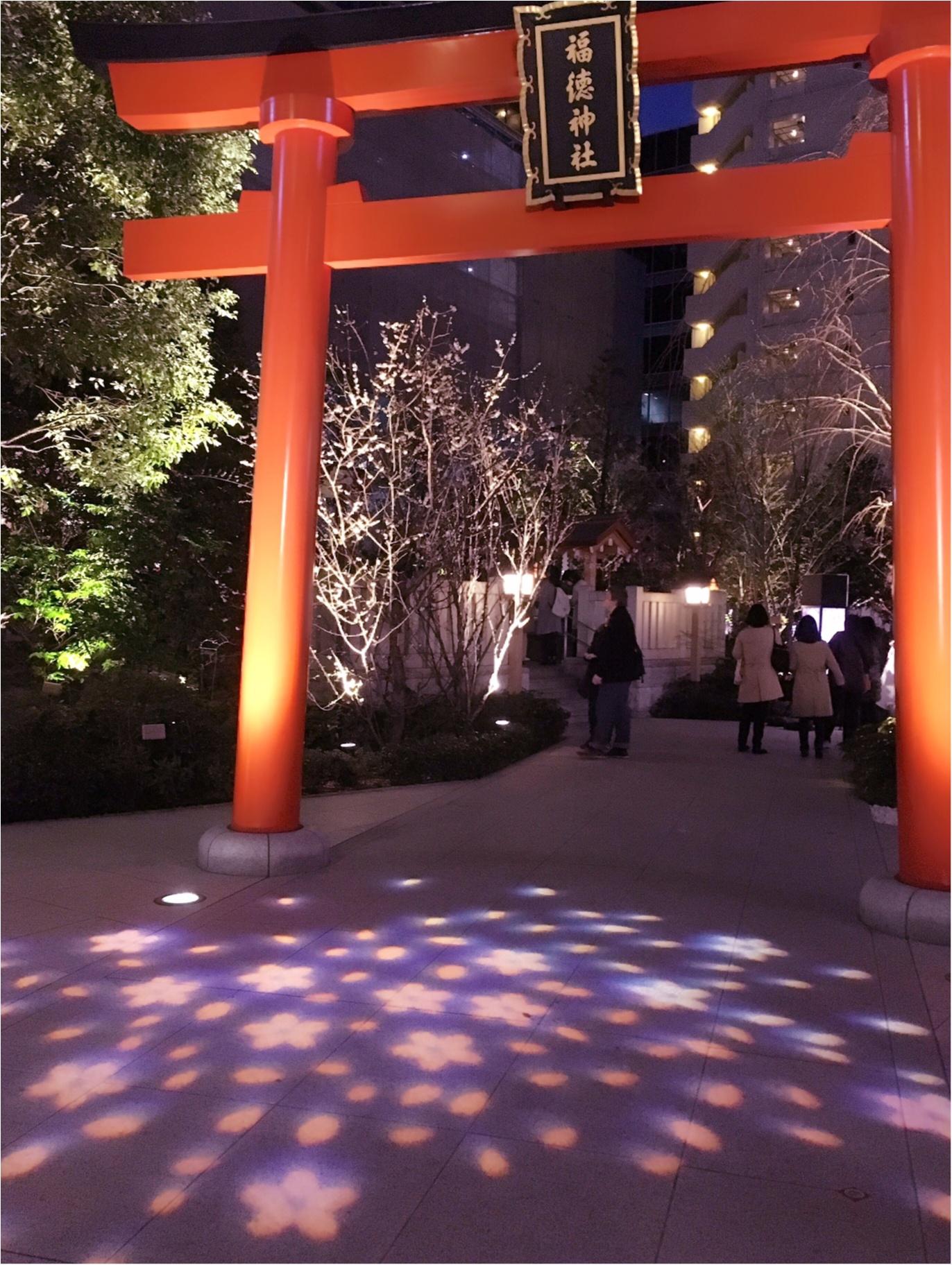 【日本橋桜フェスティバル2017】の【桜色ライトアップ】で一足早くお花見気分(*°○°*)♡_5
