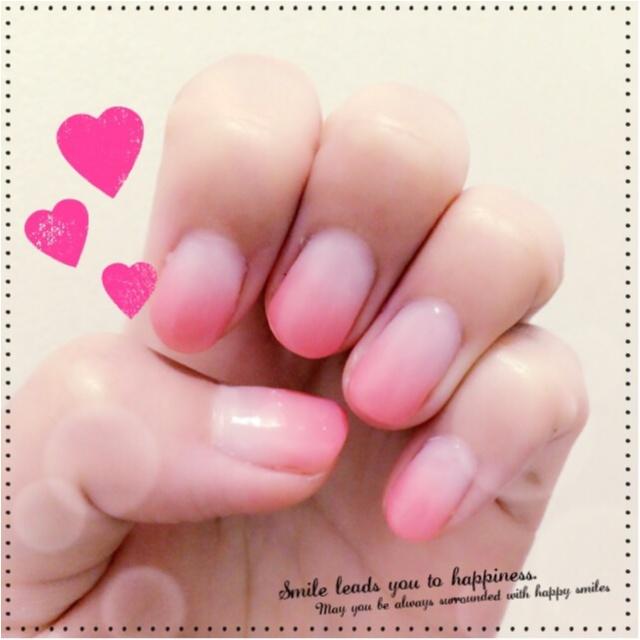 シンプルに可愛く…♡誰からも愛される指先へ(^^)♫_1