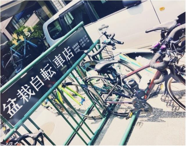 """自転車好きにオススメしたい""""チャリカフェ""""第1弾♡「盆栽自転車店」@東京・千駄ヶ谷【#モアチャレ さえ】_3_2"""