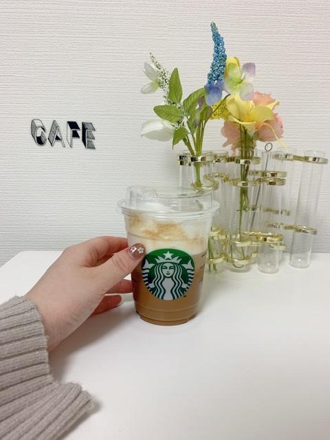 ◆4月8日までの期間限定◆スタバ新作♡アイス ムース カラメル ラテでおうちカフェ_1