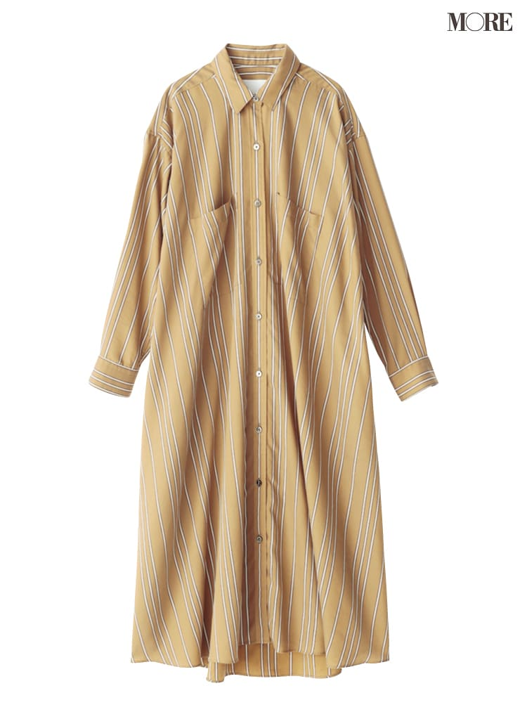 シャツワンピースの着こなし術【2020春】- 今年イチオシの色・形は? とびきり今っぽくておしゃれな最新ファッションまとめ_5