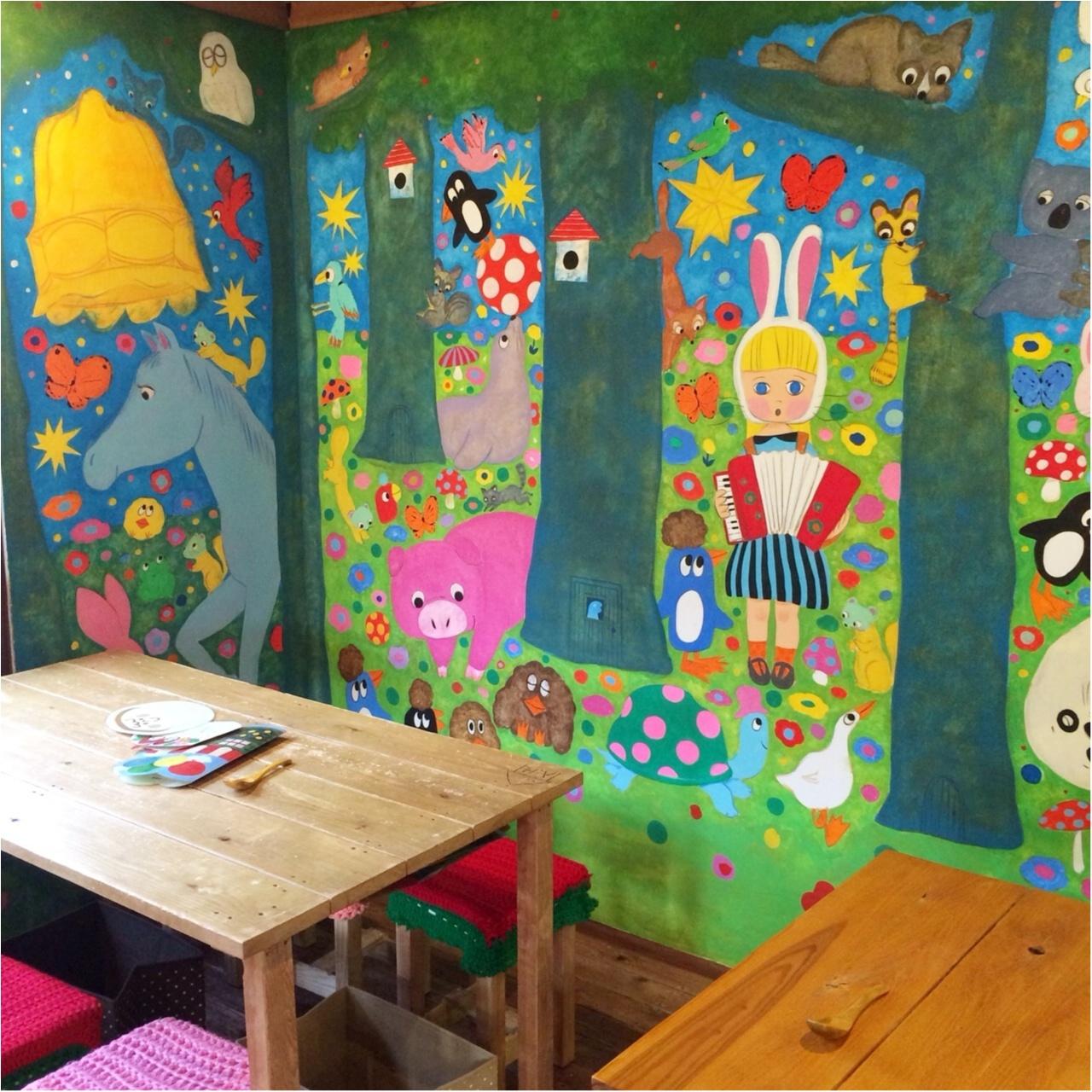 絵本の世界へようこそ♡ 吉祥寺にあるかわいいメルヘンカフェ ♡_2