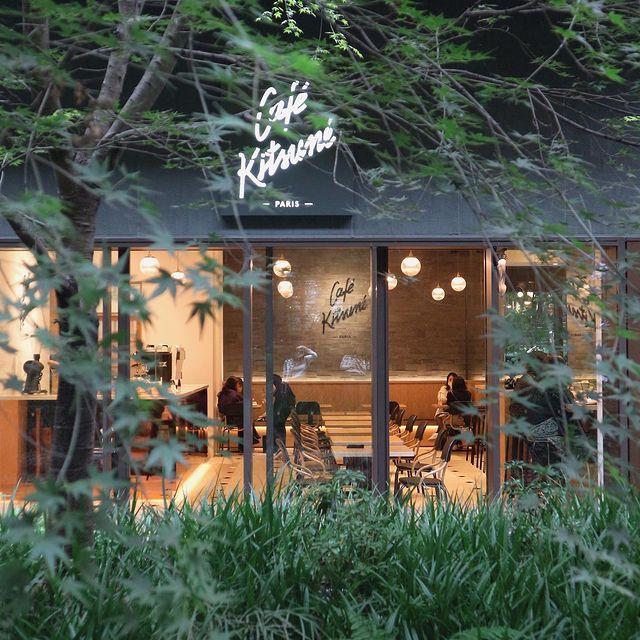 京都・烏丸御池のおしゃれカフェ『Café Kitsuné』