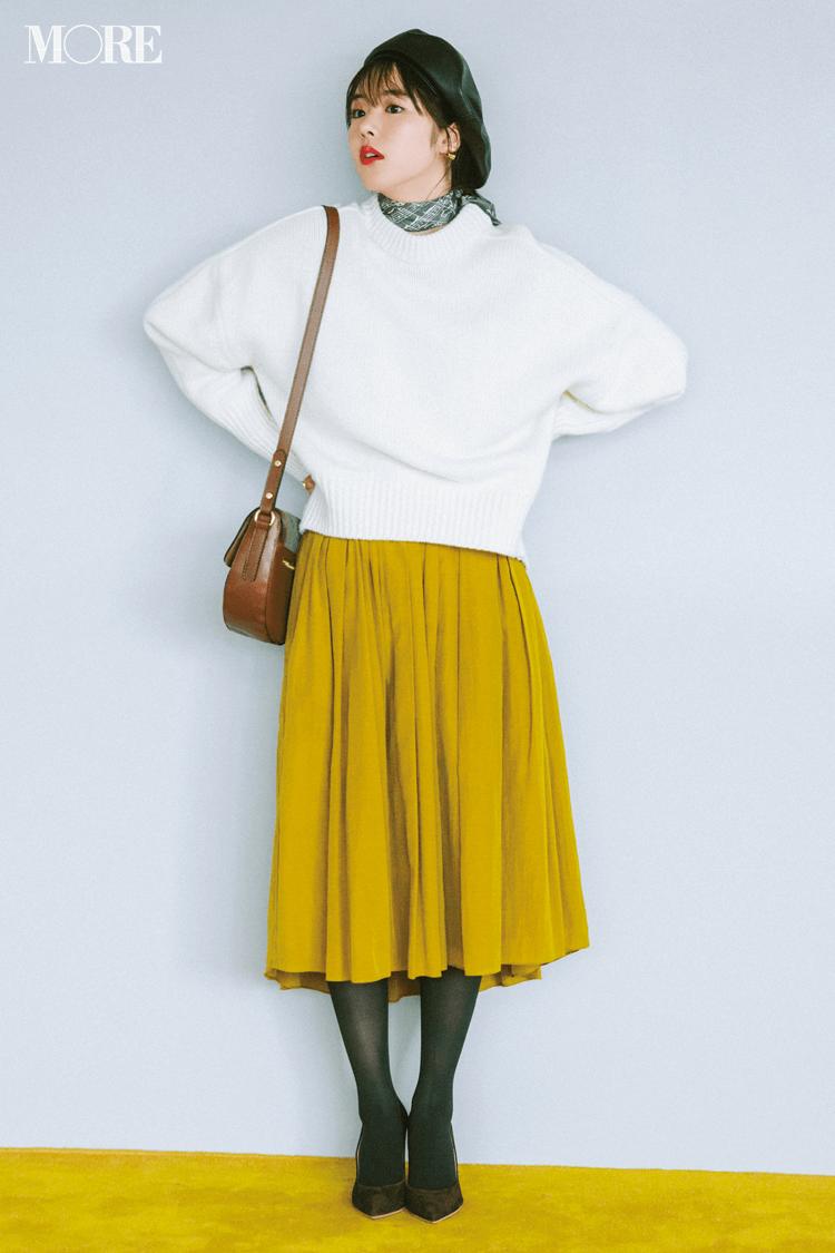 2018年秋のファッション ニット25