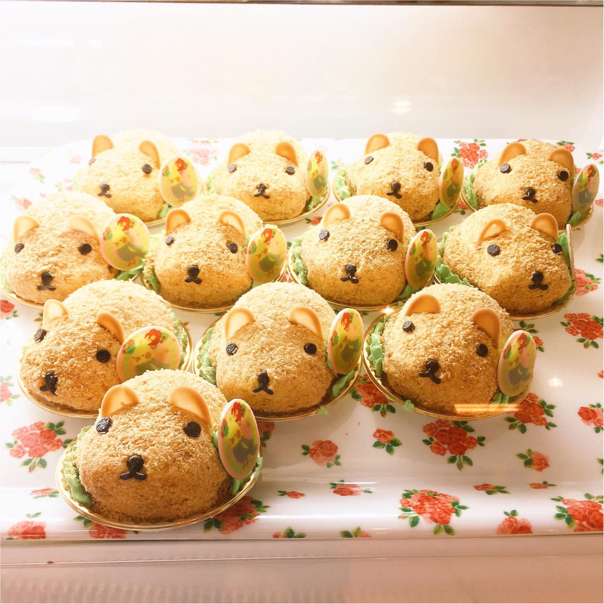 『カピバラさん×ことりカフェ』コラボ♡ことりカフェ表参道店でカピバラさんケーキを食べてきました(﹡´◡`﹡ )_9