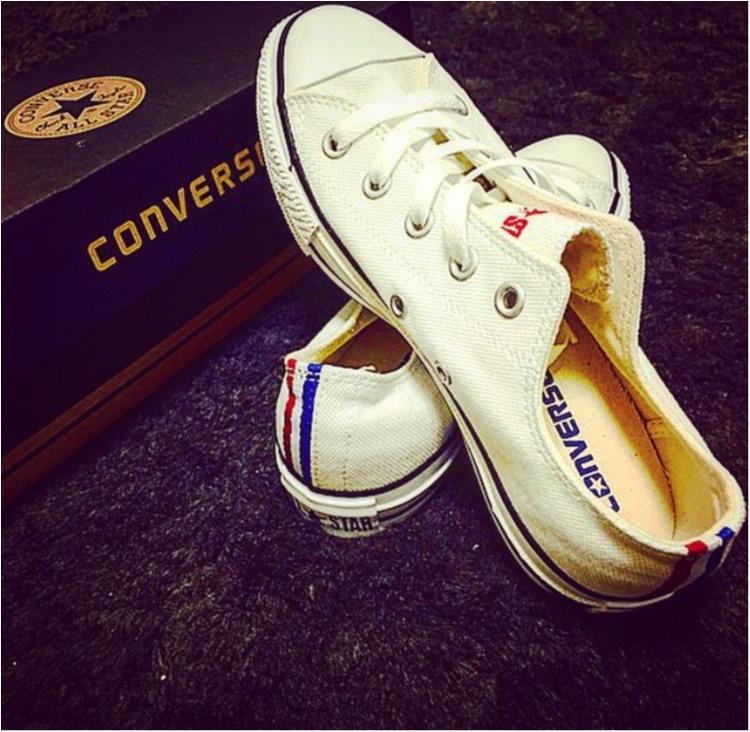《やっぱり大好きコンバース♡》靴紐の結び方を変えて一味違う履き方してみませんか?_1
