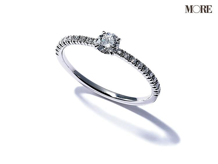 カルティエのダイヤモンドリング マリッジリング エンゲージメントリング