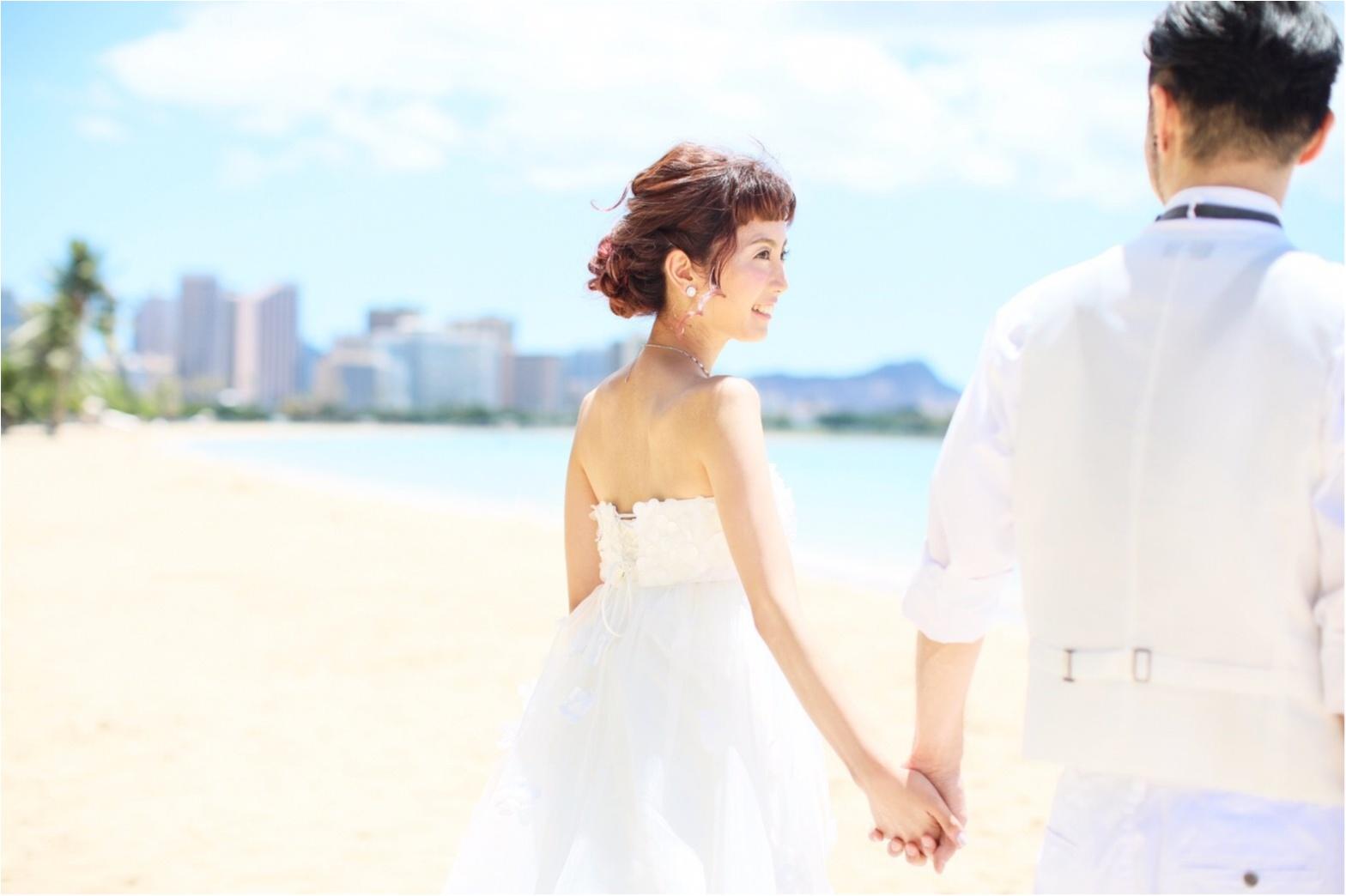 【プレ花嫁さん必見】ハワイでウェディングフォト撮影-ビーチ撮影・ハンドメイドの小物たち-_6