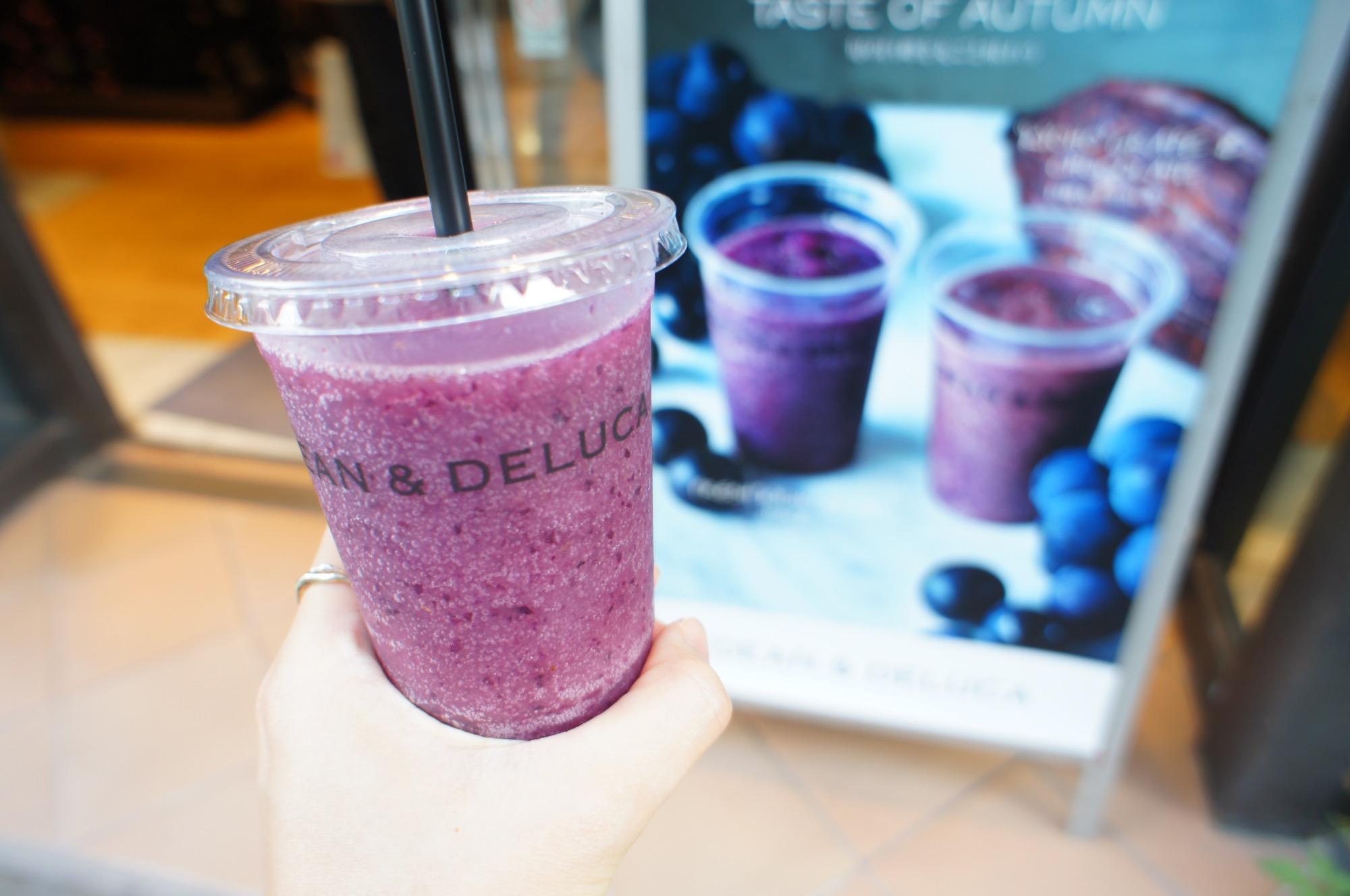 《秋の新作ドリンク❤️》【DEAN & DELUCA】のフレッシュ巨峰ジュースが美味しすぎる☻!_2
