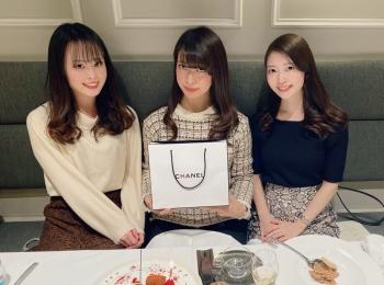 六本木のフランス料理店「L'ESSOR」で友達の誕生日会をしてきました!✴︎