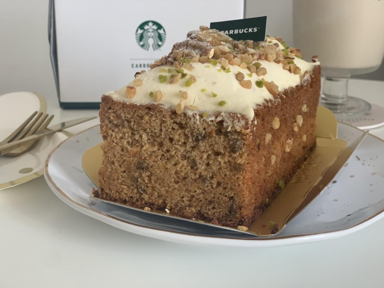"""【スタバ】数量限定!オンラインショップ初のケーキは""""コーヒーの豆かす""""を活用したキャロットケーキ_4"""