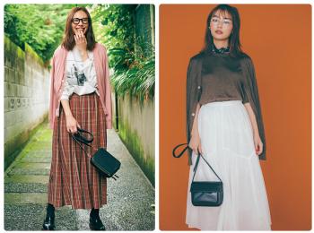 ロングスカートコーデ特集《2019秋》- プリーツスカートやチェック柄スカートなど、旬のスカートコーデまとめ