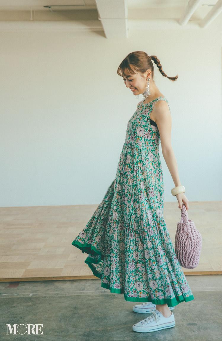 花柄ワンピース特集《2019年夏》- 夏のおすすめワンピースやサマードレス_5