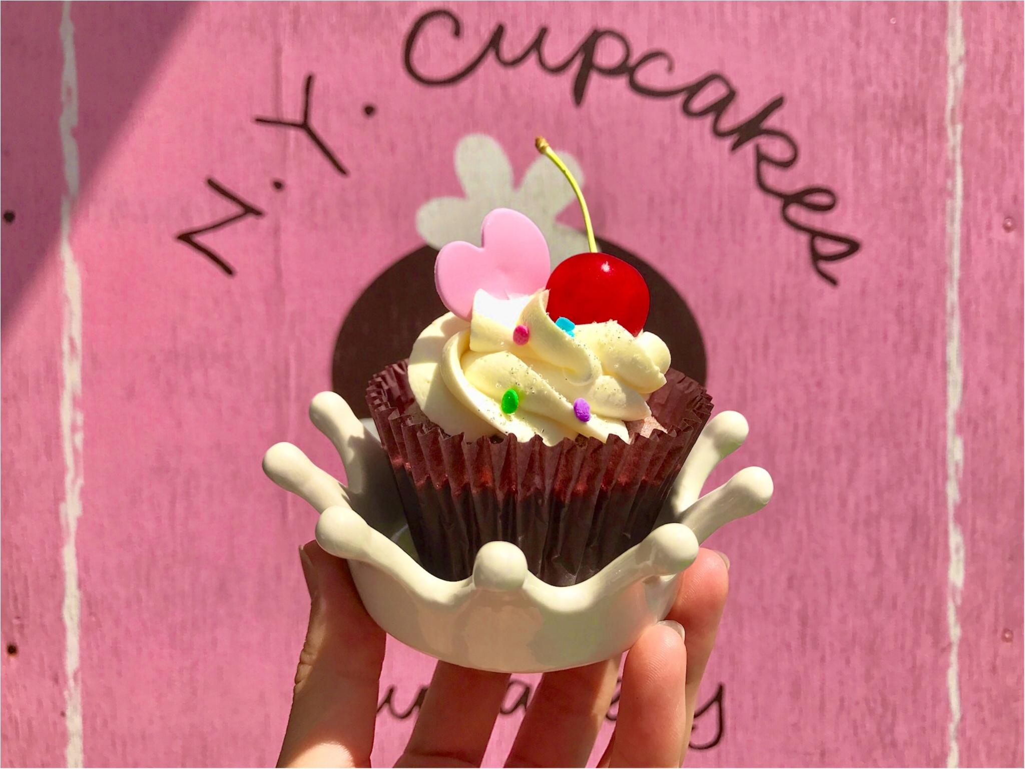 【FOOD】可愛いの大定番♥ 一度は行きたいニューヨークカップケーキ!_8