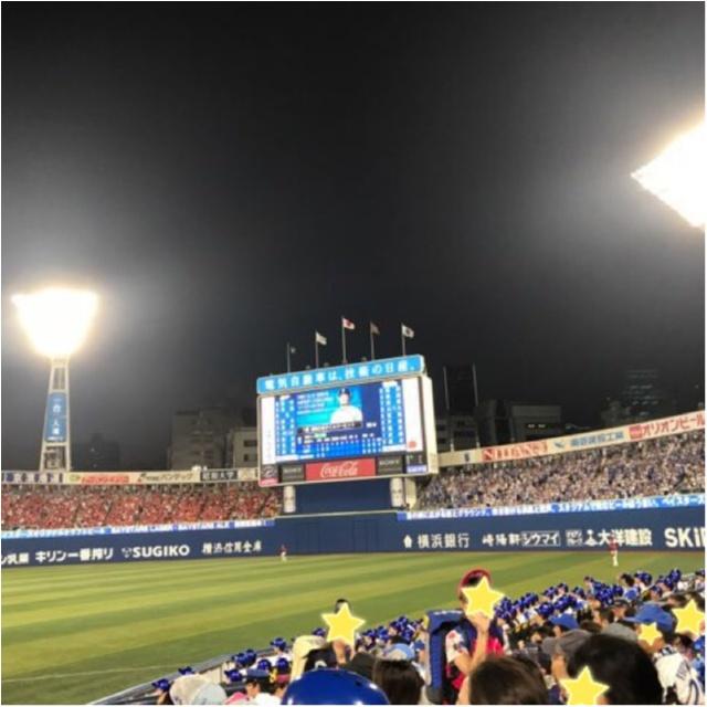 【スポーツ観戦コーデ】横浜スタジアムにて野球観戦してきました!★_6
