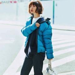 【今日のコーデ/篠田麻里子】カジュアルなアイテムをきれいに着る、それがダウン×デニムの新しい楽しみ方♪