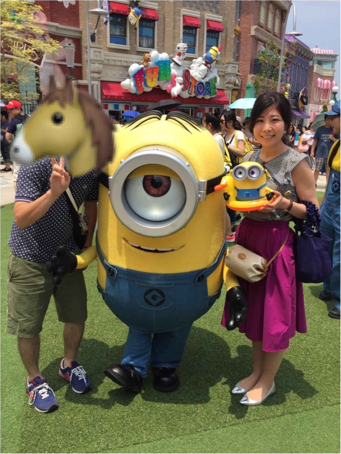 【USJミニオンパークを遊び尽くす♡】asuの大阪旅行☺︎_9