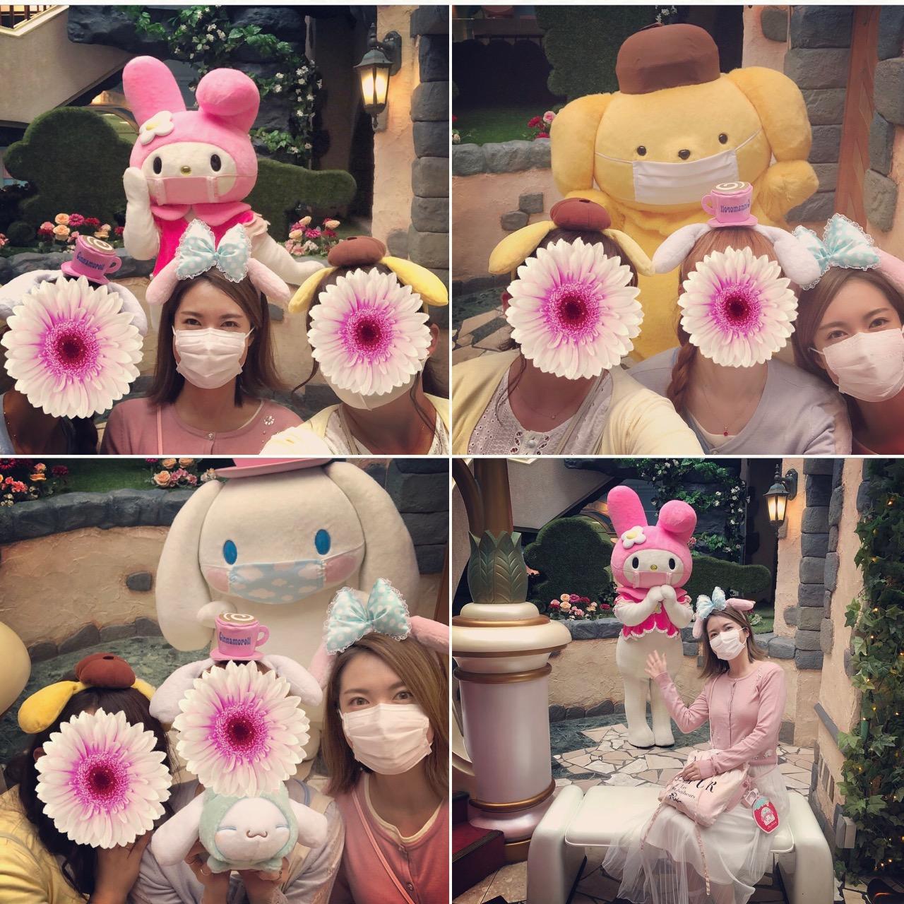 <サンリオ>ステイ東京◎マスク姿のかわいいキャラたちにも会える!サンリオピューロランドへ行ってきました♡_4
