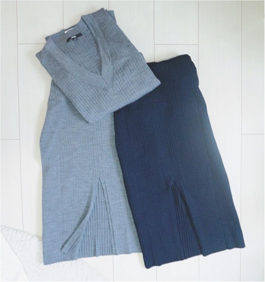 """大大ヒット❤️【UNIQLO】""""メリノブレンドリブスカート""""がついに限定価格に!今なら¥3980で叶う《ニットアップ》コーデ❤️_3"""