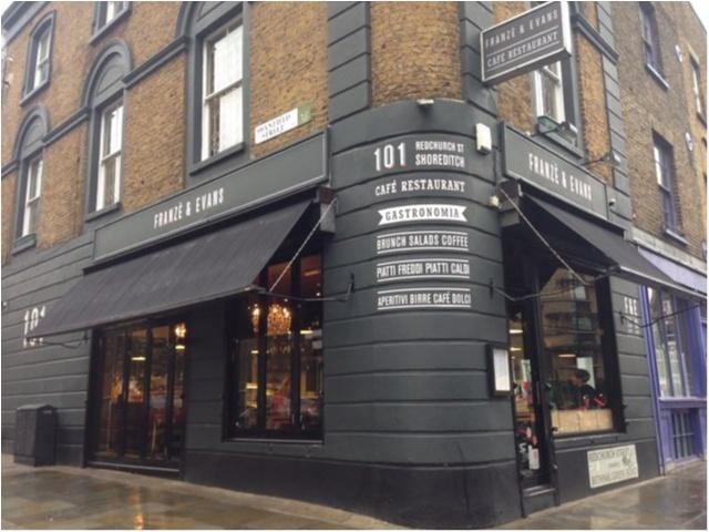 【Franze&Evans LONDON】ロンドン気分を味わえるお洒落カフェ★_3