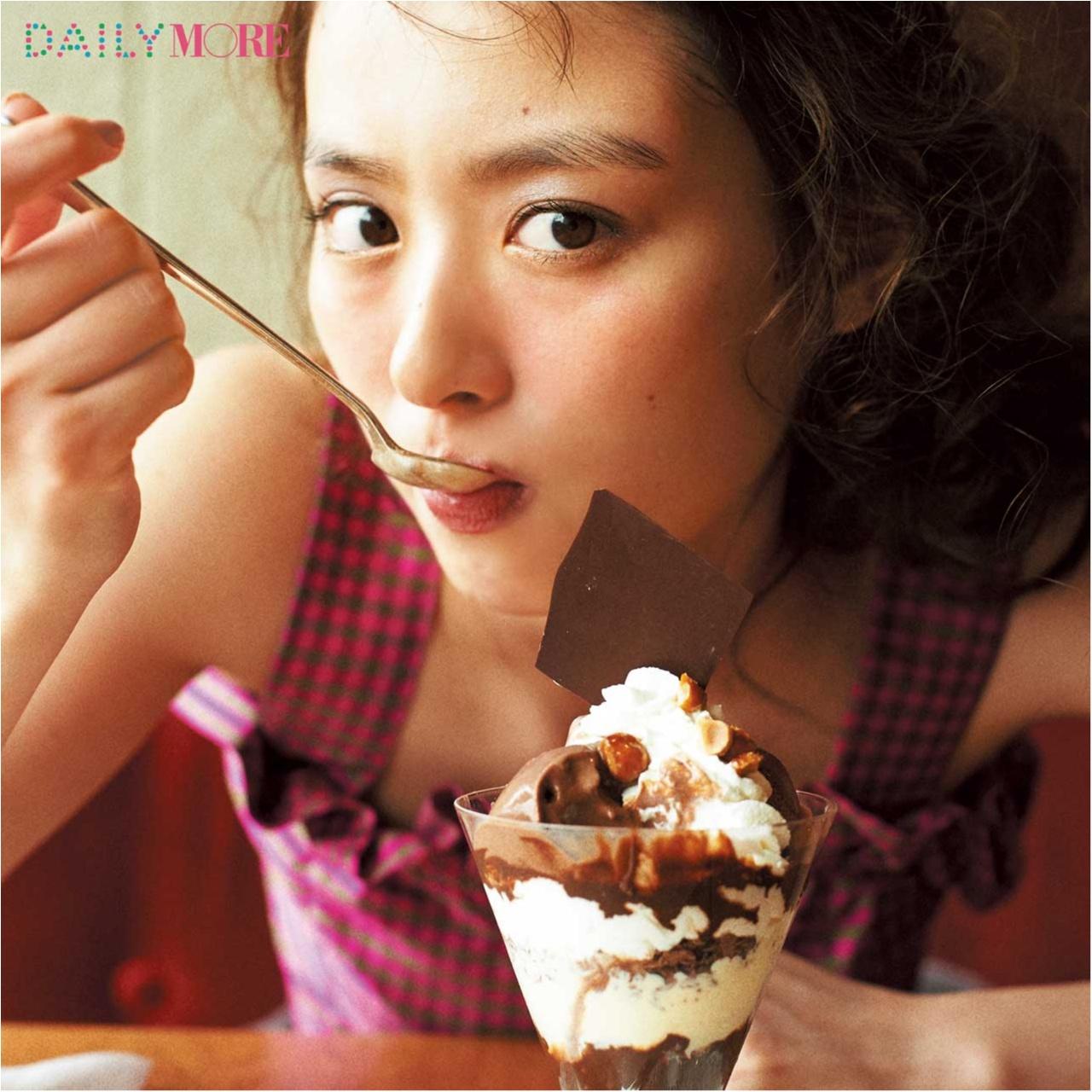 内田理央&イガリシノブさんが提案!「カフェデートの日」は「じゅわっとほっぺメイク」がオススメ♪_1