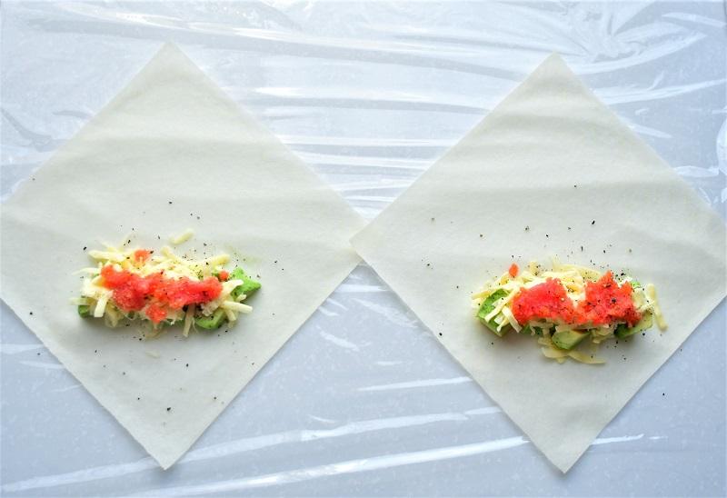 【10分で完成! 簡単おしゃれな一汁一菜レシピ~木曜日~】ヘルシー春巻き 2種+具だくさん薬味スープ+ごはん_2