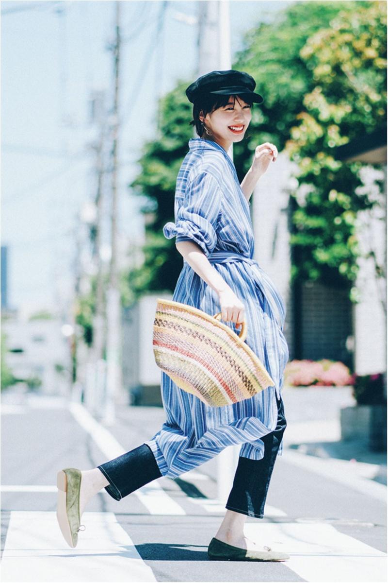 日焼け防止のマストアイテム 【帽子】の今どきコーデ15選 | ファッションコーデ_1_14