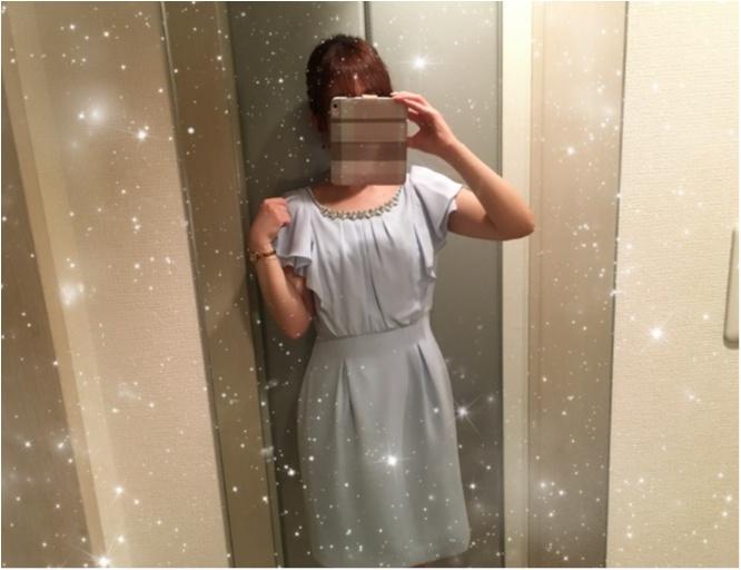 二次会コーデ♡Debut de Fioreのワンピース♡♡_5