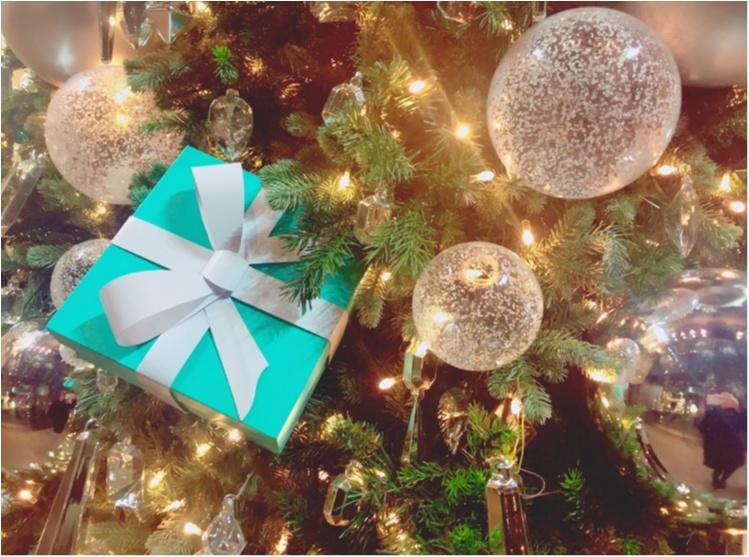 """【♥︎♥︎♥︎】12/25まで! """"さすが…♡!"""" 銀座 Tiffany & Co のクリスマスが可愛すぎる件。 etc…_7"""