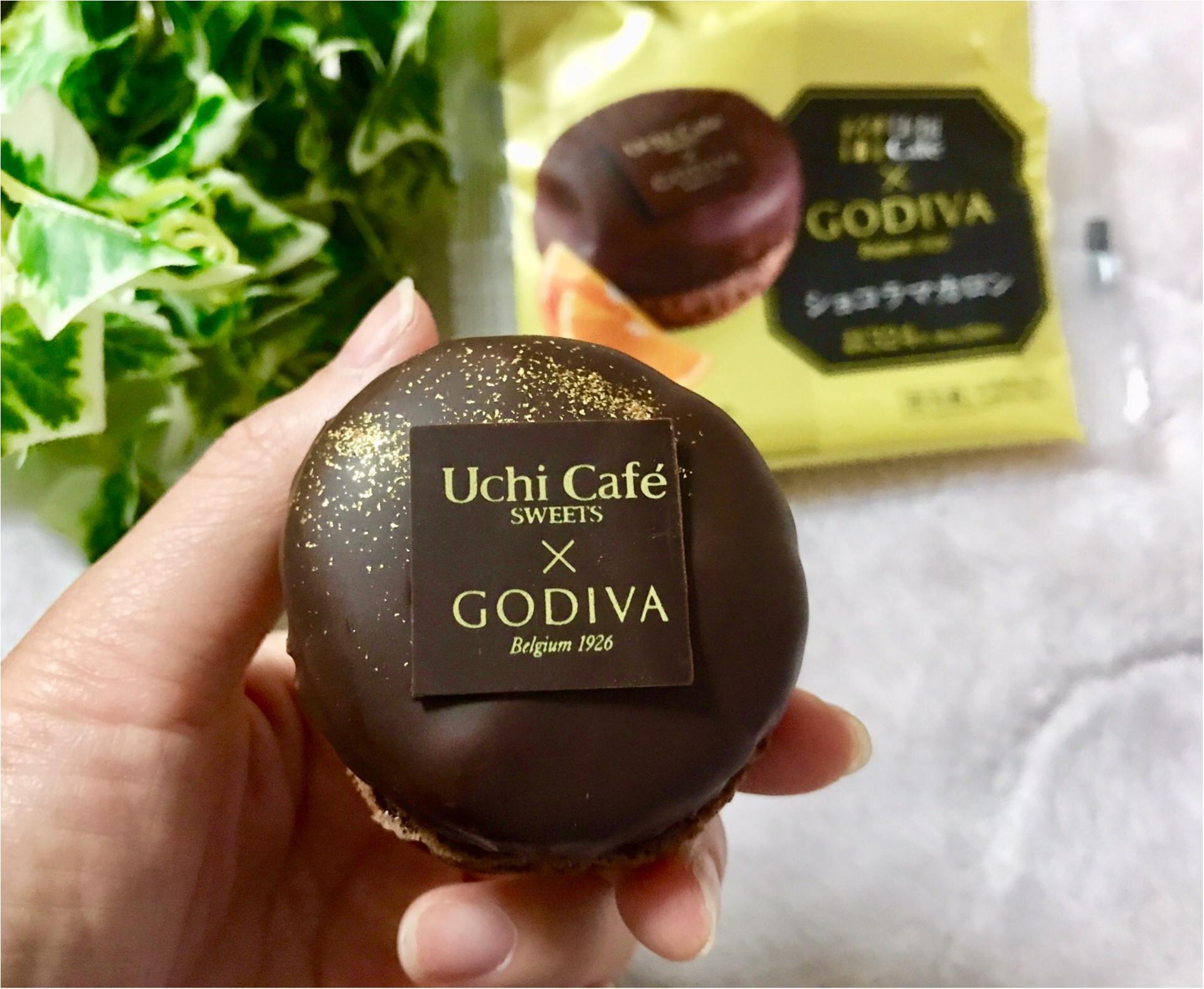 【Uchi Café×GODIVA】コラボスイーツ第6弾!チョコレート好きにはたまらない❤︎《ショコラマカロン》が美味♡♡_3
