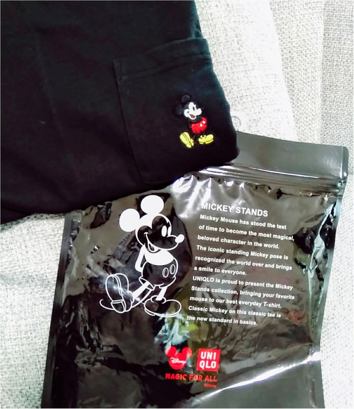 ディズニー×UNIQLOのコラボTシャツが安くて可愛い♡彼とお揃いで着ちゃおう!!(443 まゆ_1