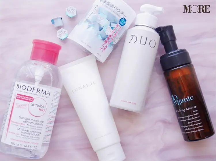 立花ゆうりさんが毎朝使用している洗顔料や化粧水