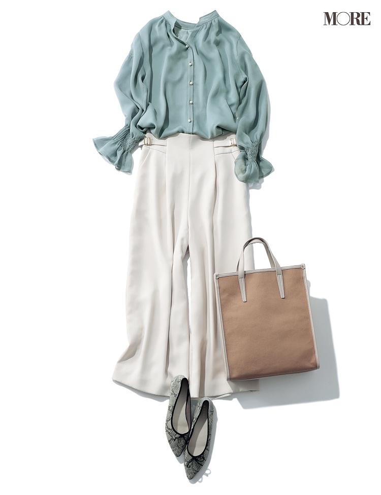 甘さと好印象をかなえるアプワイザー・リシェの服