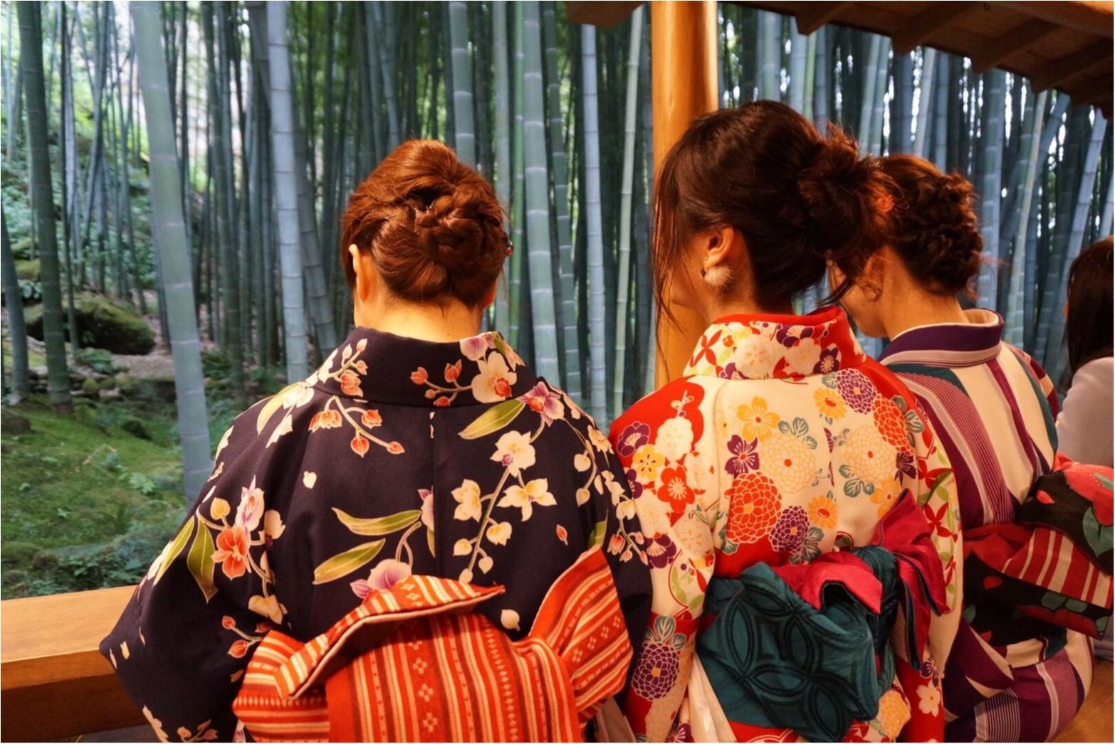 【✨着物レンタルwargo ¥2,900✨】手ぶらでOK!着物を着てお出掛けしよう❤︎鎌倉の「報国寺の竹林」「浄妙寺」「小町通り」を散歩しました♩≪samenyan≫_19