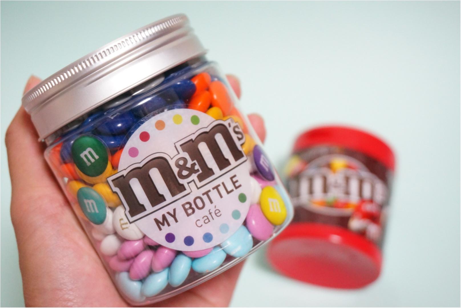 《期間限定》原宿にNY発カラフルパフェ登場✨日本初上陸のM&M'Sマイボトルチョコを作っちゃおう♪_3
