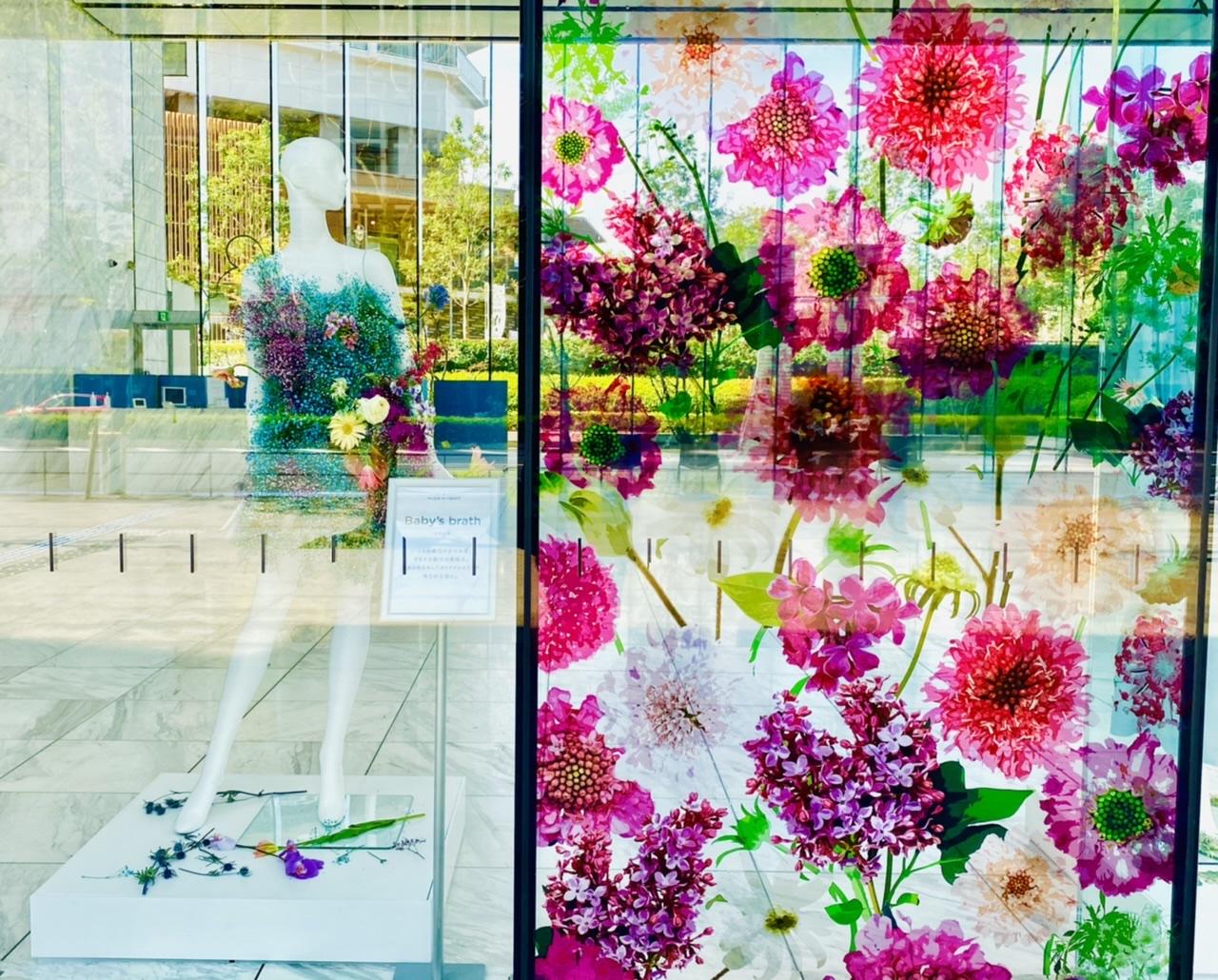 【ロスフラワーアート展】花のドレスが圧巻!春の花束フラワーショップもOPEN♡_7