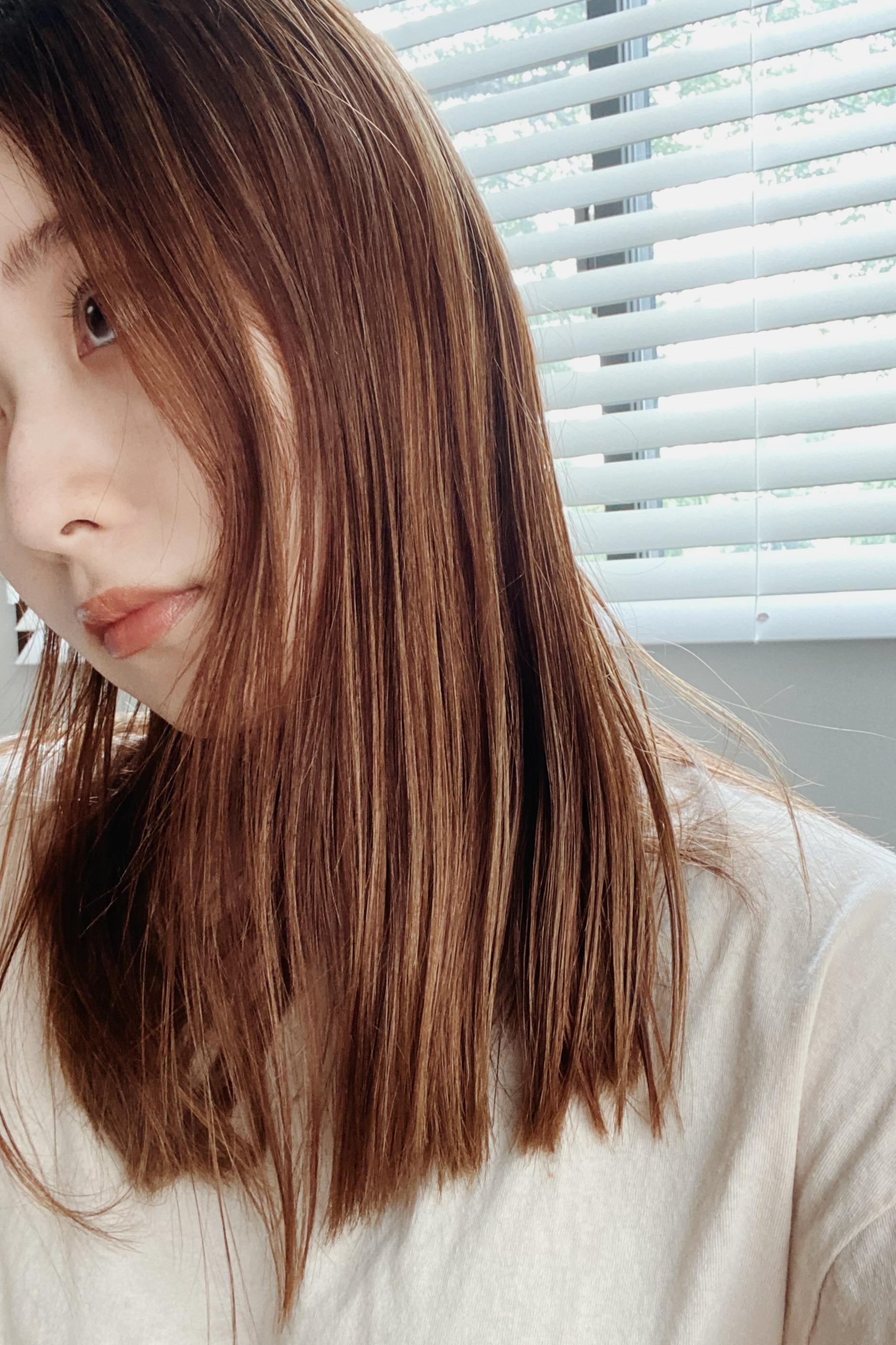 【夏ヘアカラー】髪が伸びても無敵のハイライトカラー_2