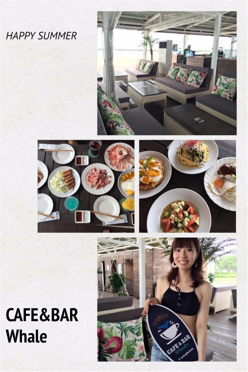 """海の家+カフェ=""""海カフェ""""「CAFE&BAR Whale」でカジュアルリゾート気分!!_1"""