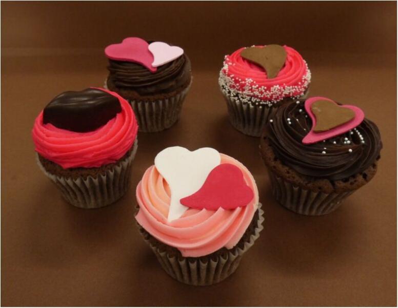 彼からプレゼントがイギリス流♡ キュートすぎる『ローラズ・カップケーキ』のバレンタイン_1